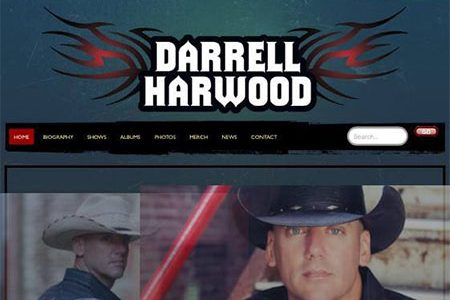 Darrell Harwood website redesigned by BRNater Media