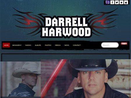 Darrell Harwood website redesigned by BRNater Media