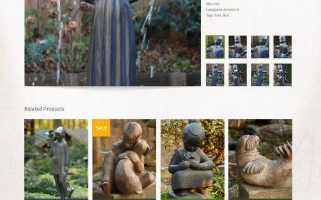 Potina - Product Page Design