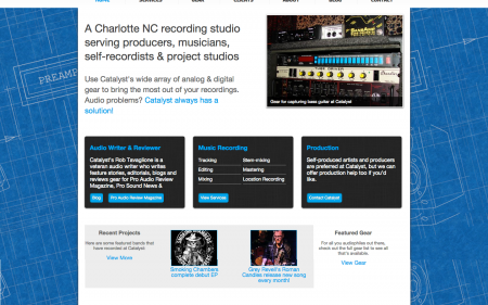 Catalyst Recording - Home page