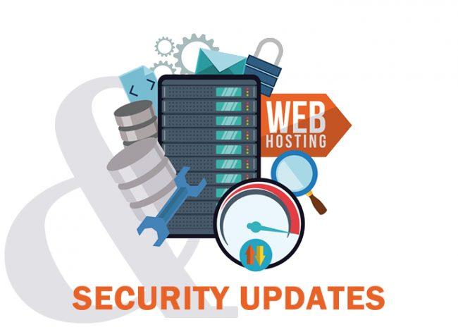 Web Hosting Security Updates